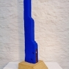 Blue Tower, 90 cm H